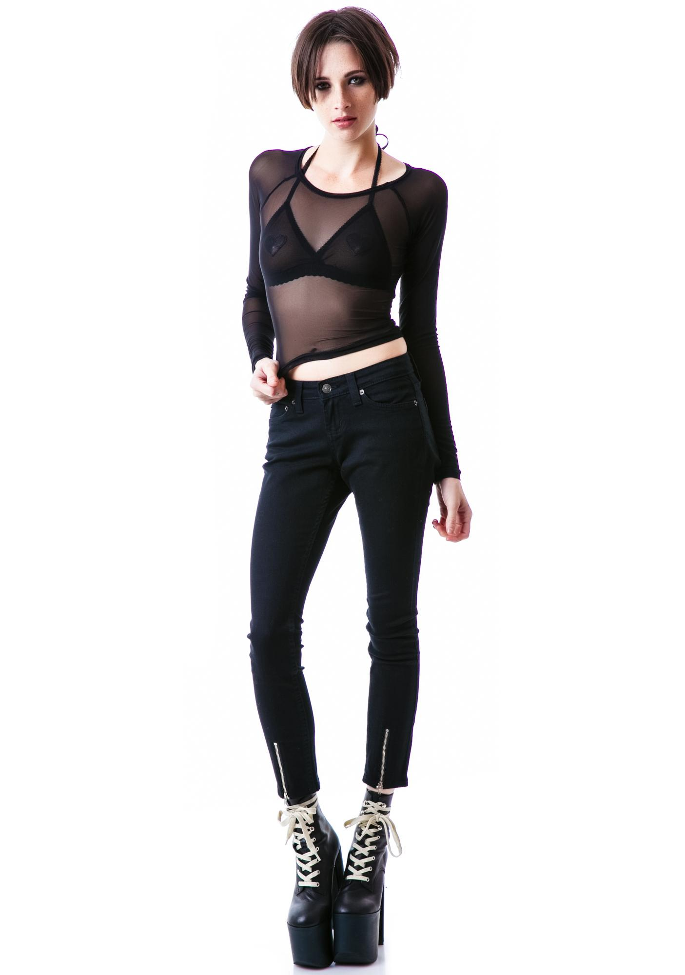 Mink Pink Moonlight Top