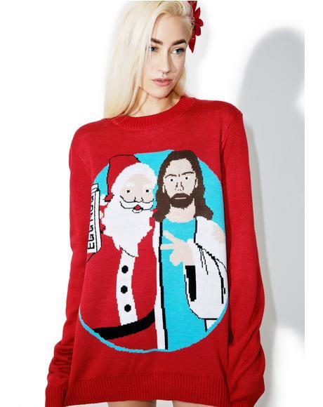 Jingle Bros Sweater