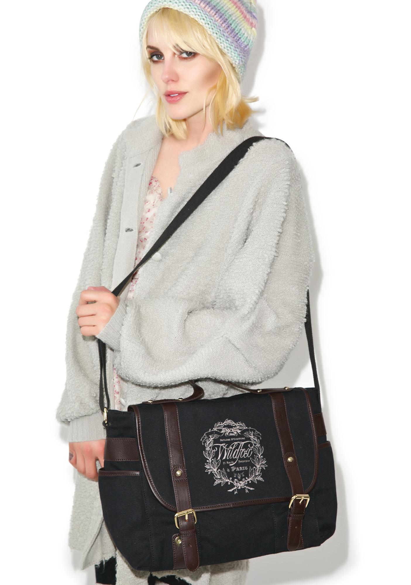 Wildfox Couture Paris Country Crest Messenger Bag