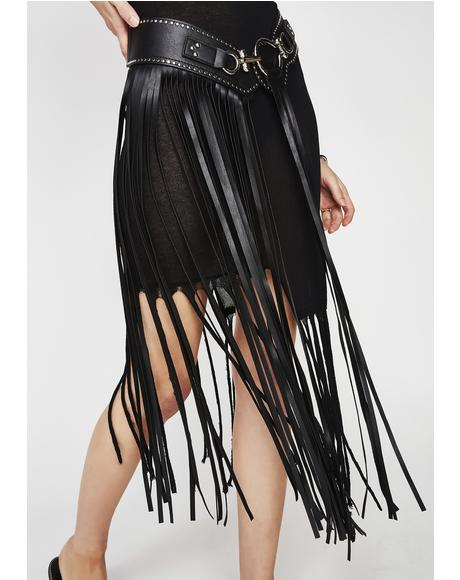 Onyx Feelin' The Flow Fringe Belt