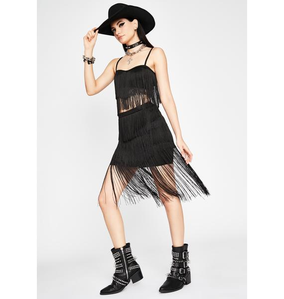 Night Movement Of Love Fringe Set