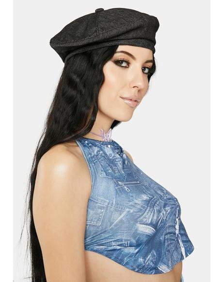 All Star Denim Beret