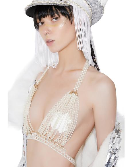 Pearls O' Wisdom Bra Top