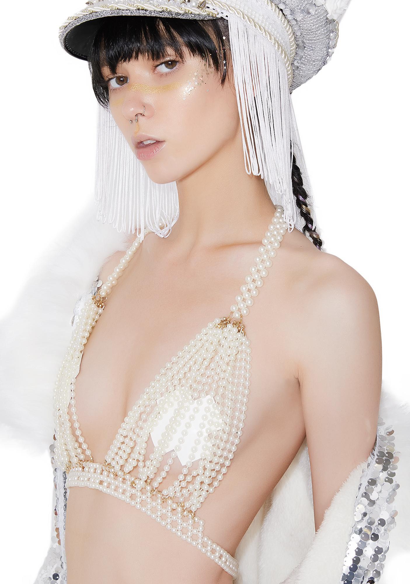 Pearls O' Wisdom Bra Top