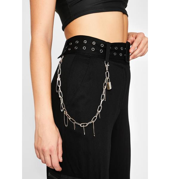 Unsafe Solutions Chain Belt
