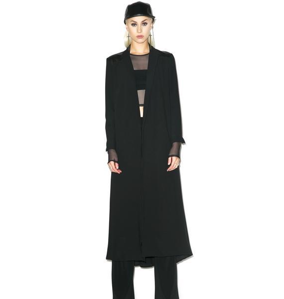 Black Wednesday Celestial Coat