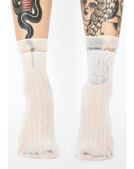Princess Moment Sheer Socks