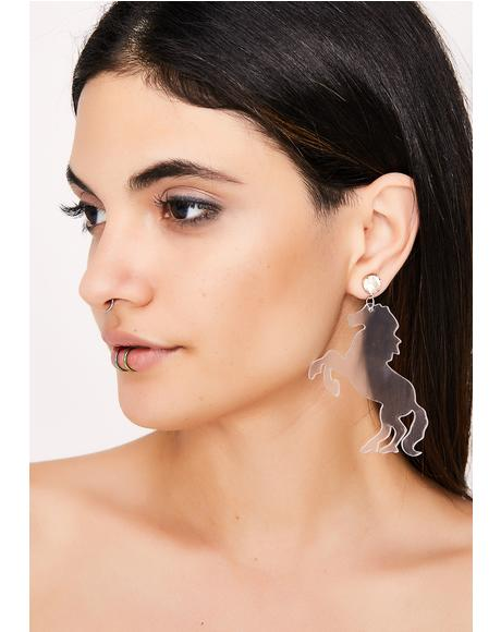 Horsing Around Earrings