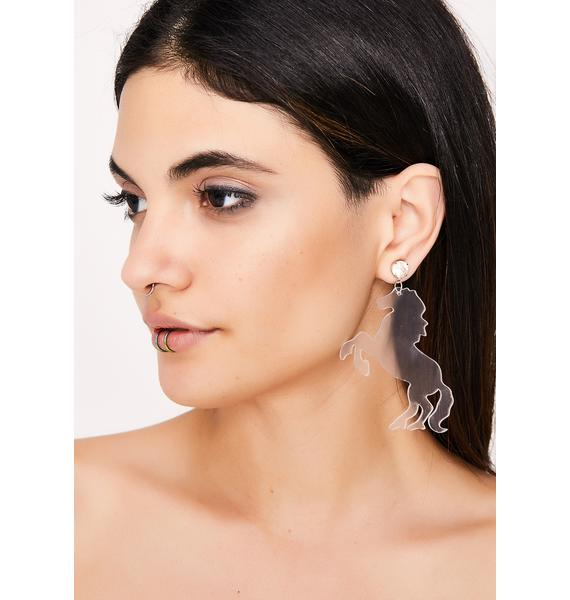 Horsing Around Earrings