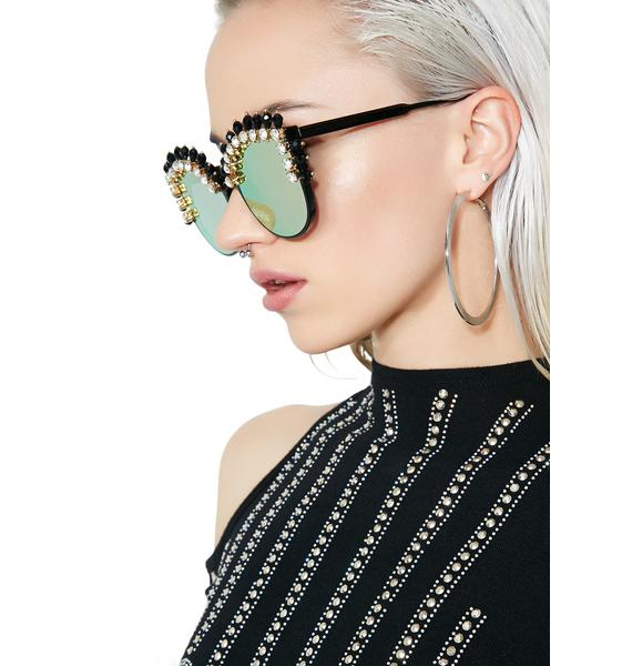 Rad and Refined Femme Warrior Sunglasses