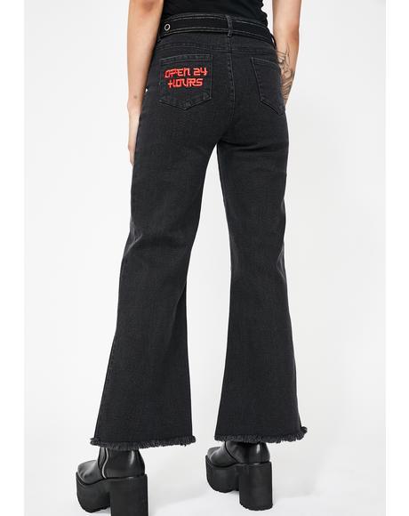 Nite Operator Wide Leg Jeans