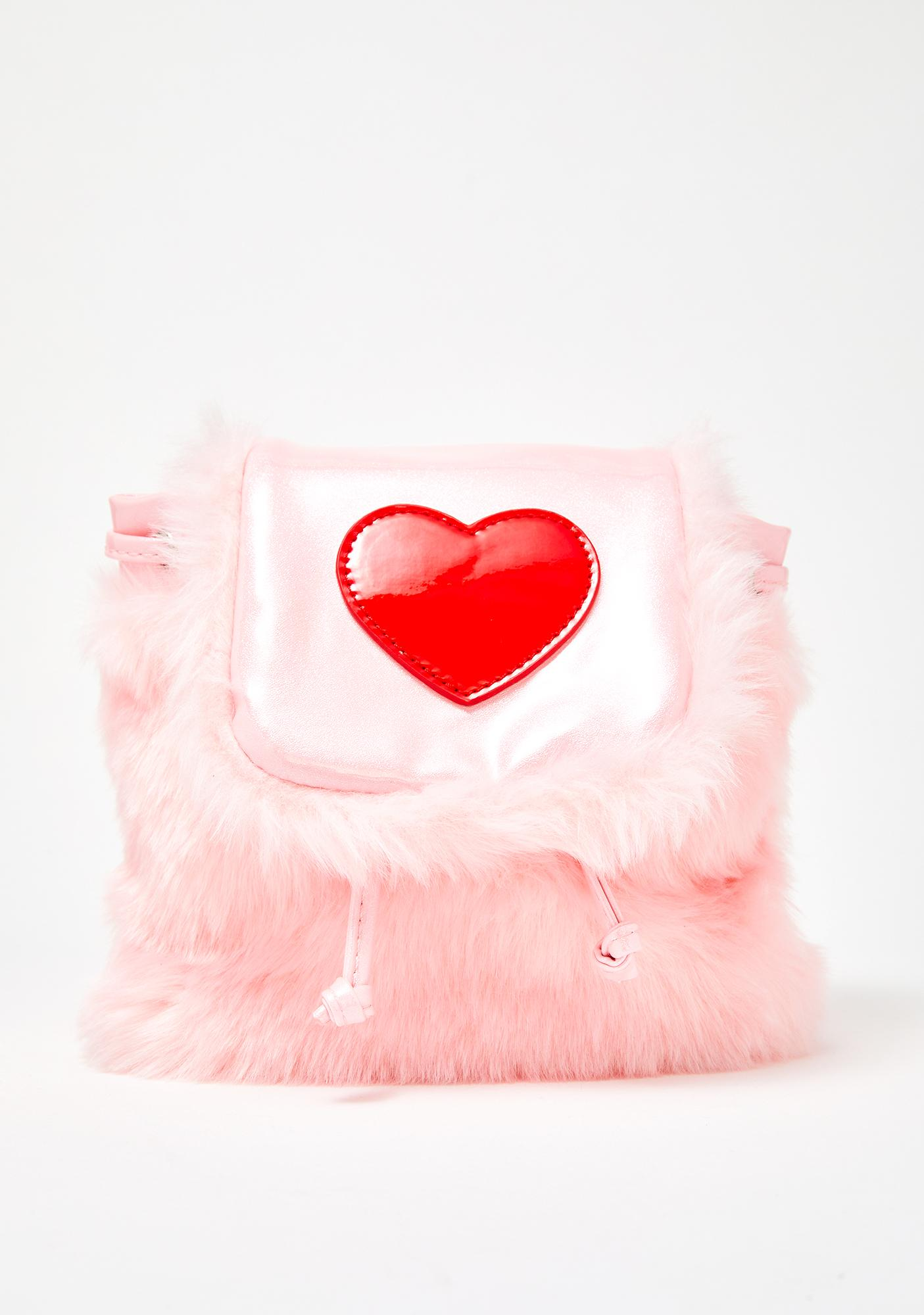 ... Sugar Thrillz At First Sight Fuzzy Backpack ... 57d2f7509dd5f