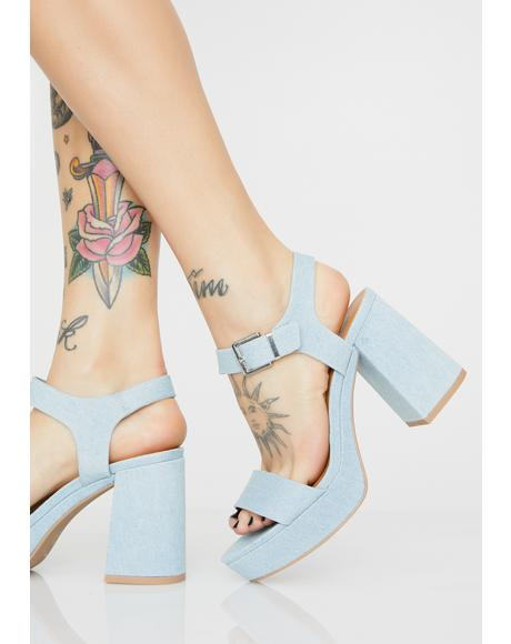 Wanderlust Wifey Block Heels