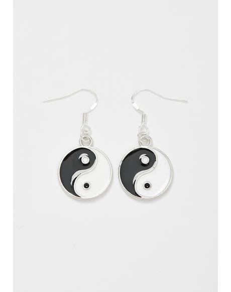 Finding Balance Yin Yang Earrings