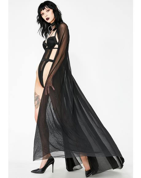 Twilight Dreams Sheer Cape
