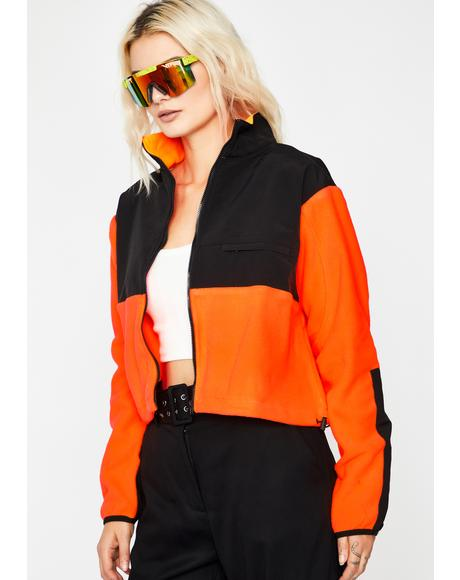 Crush Nunya Business Neon Jacket