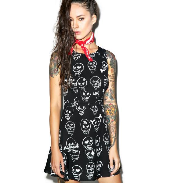 Express Yerself Skull Dress