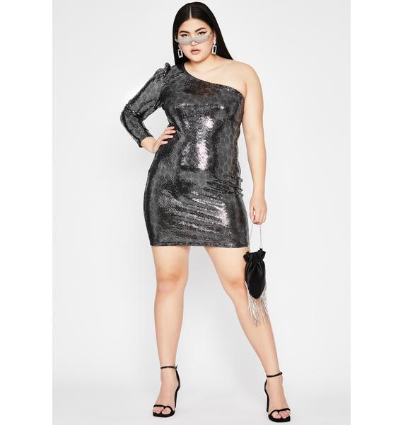 Chrome Hit The Hills Sequin Dress