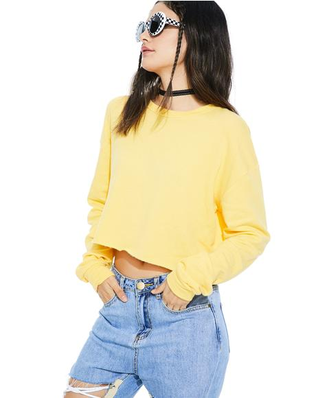 Daisy Braina Crewneck Sweater