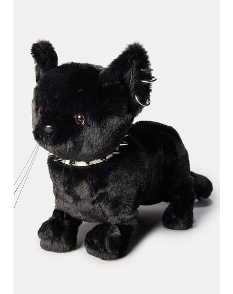 Black Cat Magic Crossbody Bag