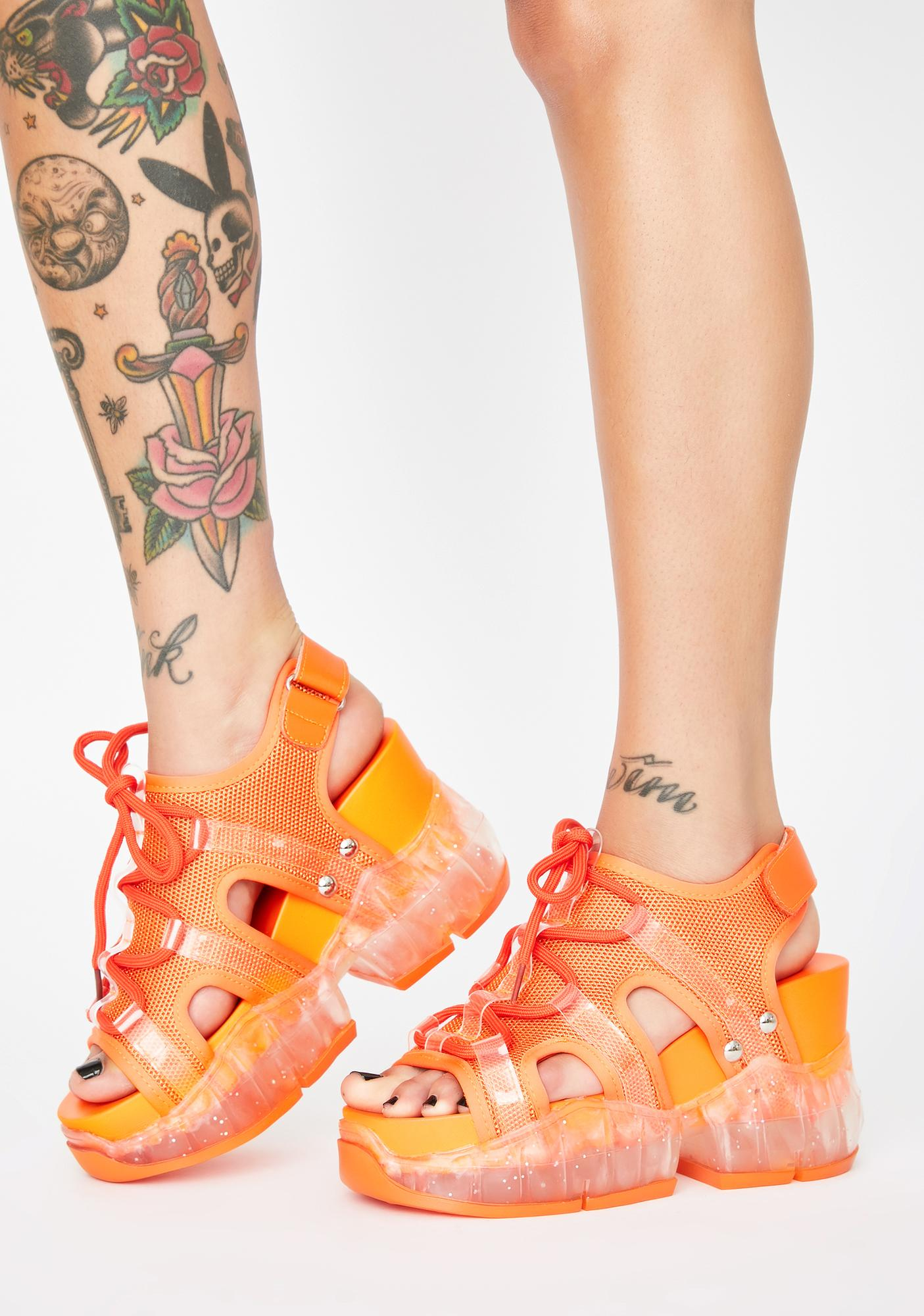 Anthony Wang Juicy Xtreme Elements Chunky Sandals
