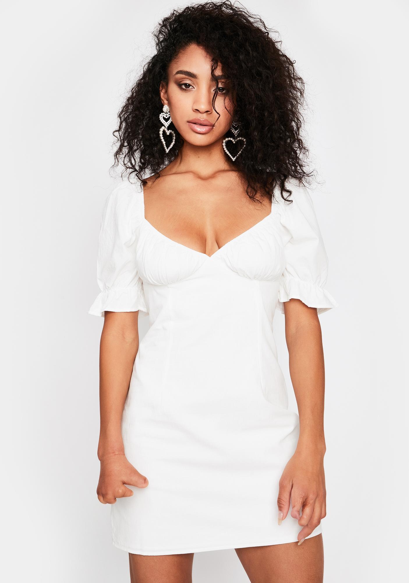 Pure Forever Love Mini Dress