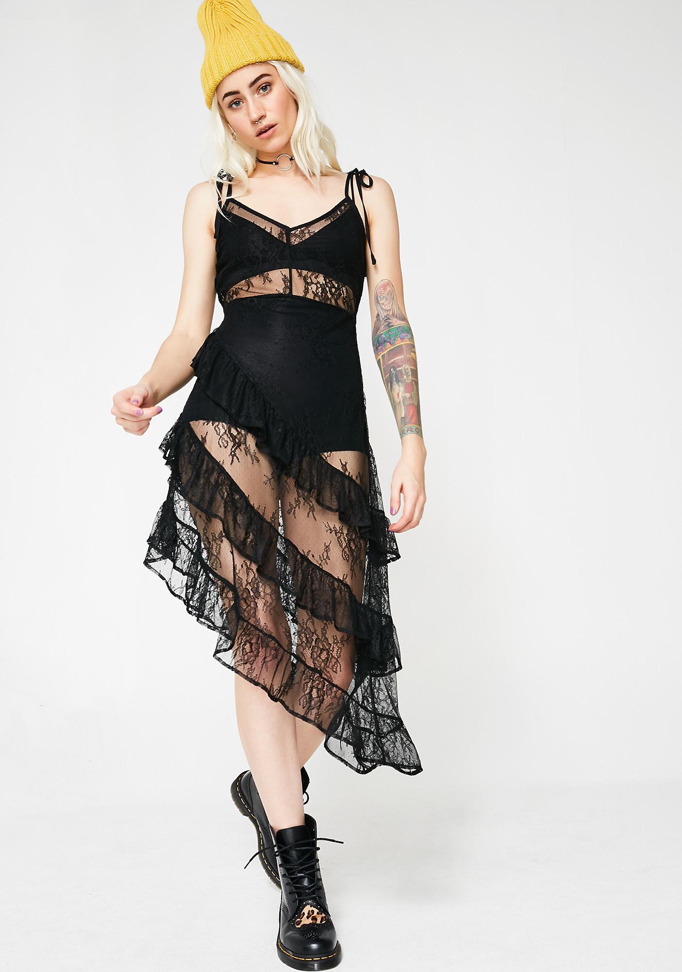 Darker Romance Sheer Dress