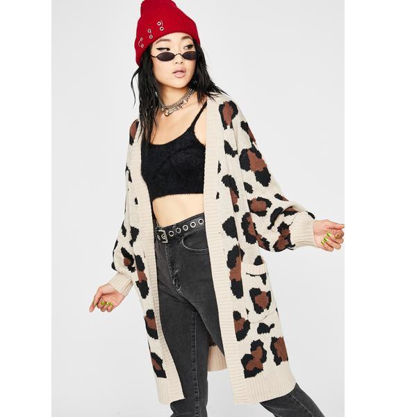 Feline Fresh Knit Cardigan