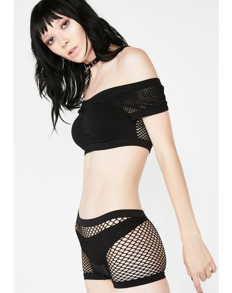 Tricks Of The Trade Fishnet Panties