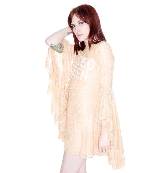 Wildfox Couture Queen of The West Flounce Dress