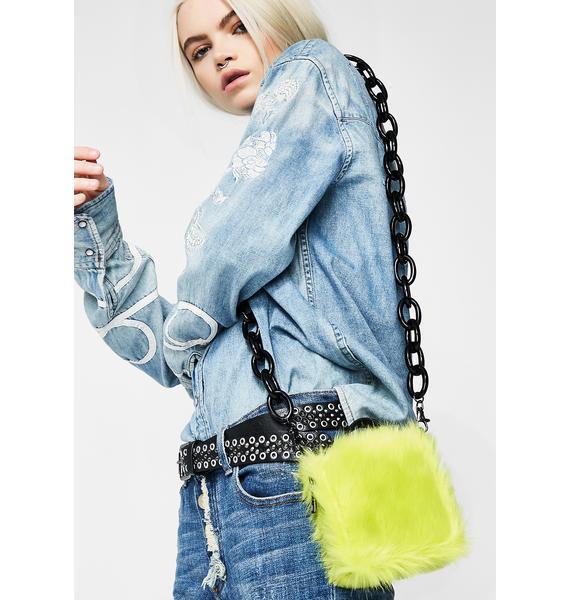 Current Mood Neon Hype Crossbody Wallet