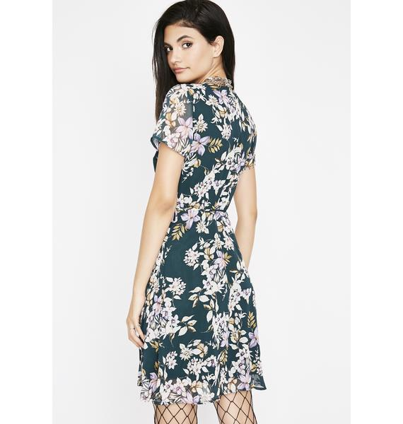 Young N Wild Floral Dress