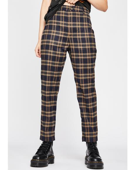 Tough Stuff Plaid Trousers