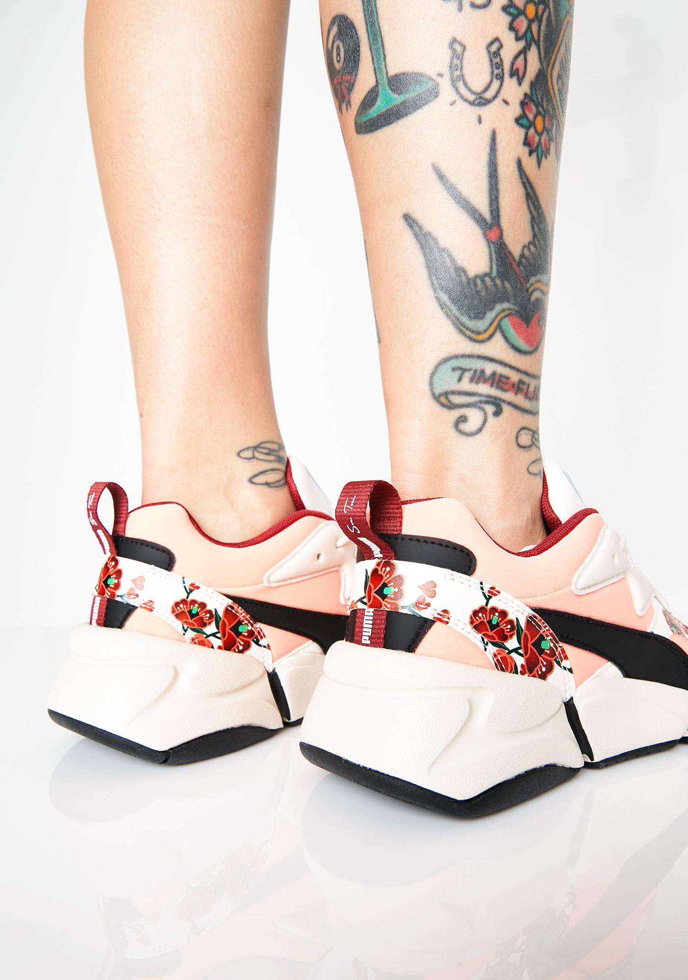 e4dcf07d243f ... PUMA x S.Tsai Nova Cherry Bombs Sneakers