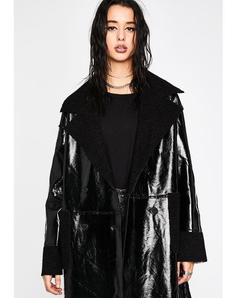Outta The Void Sherpa Coat