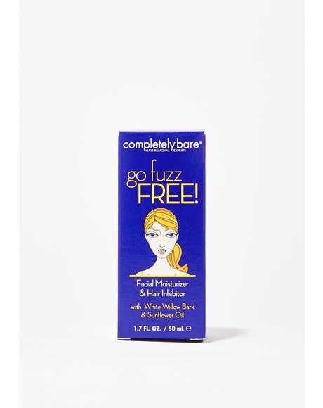 Go Fuzz Facial Moisturizer + Hair Inhibitor