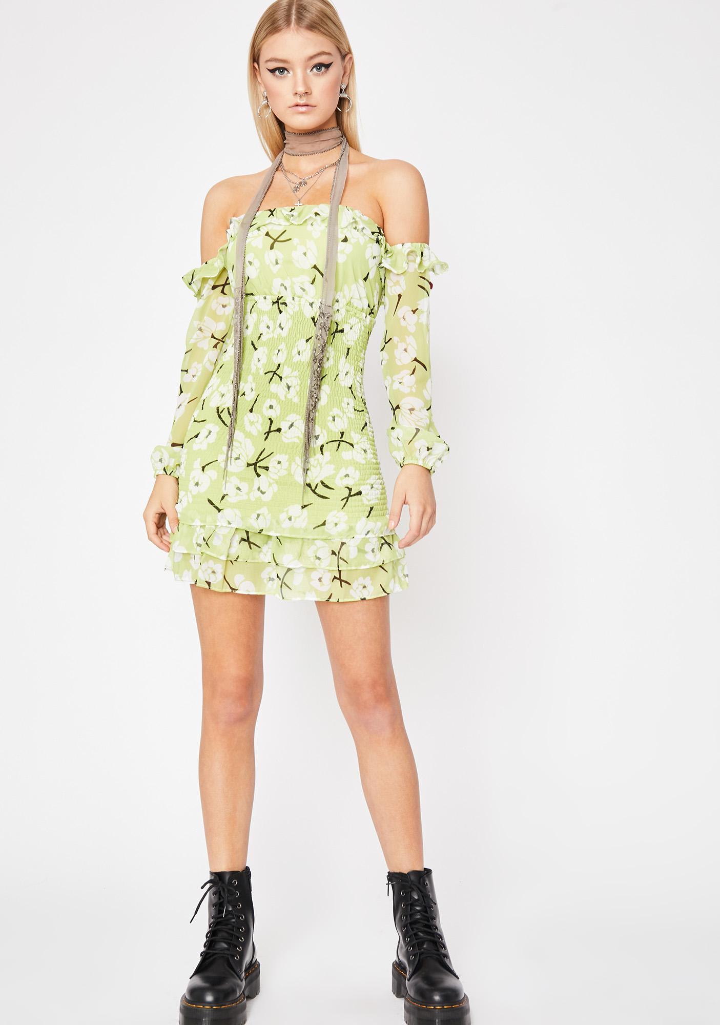 Fleur Fantasy Mini Dress