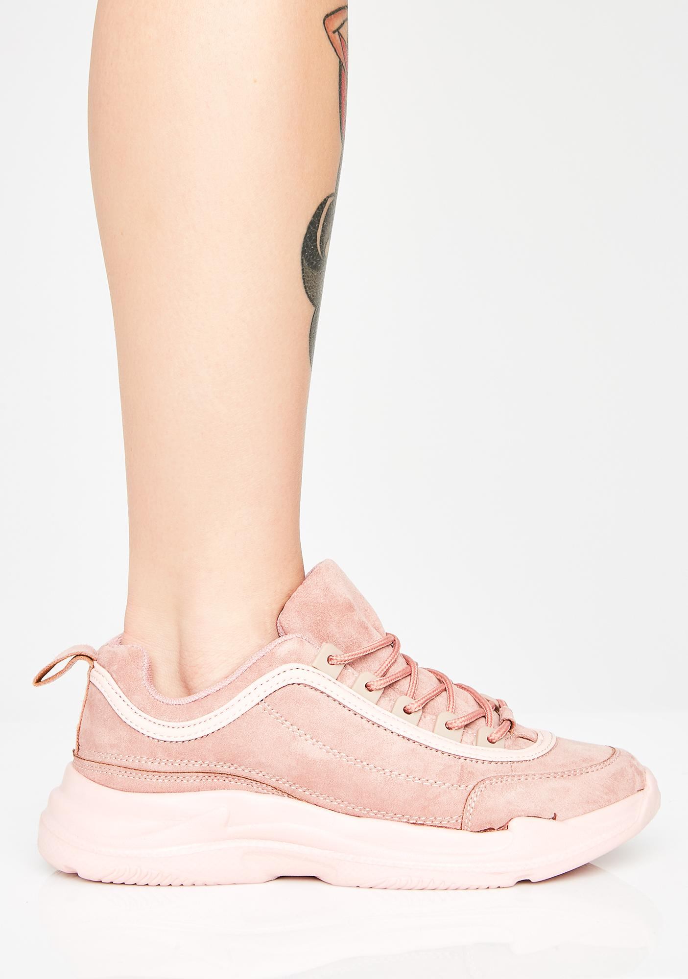 Steppin' Out Suede Sneakers