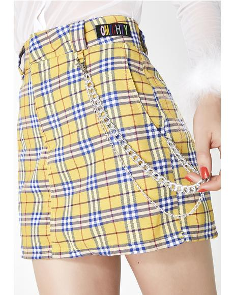 Clueless Chain Skirt