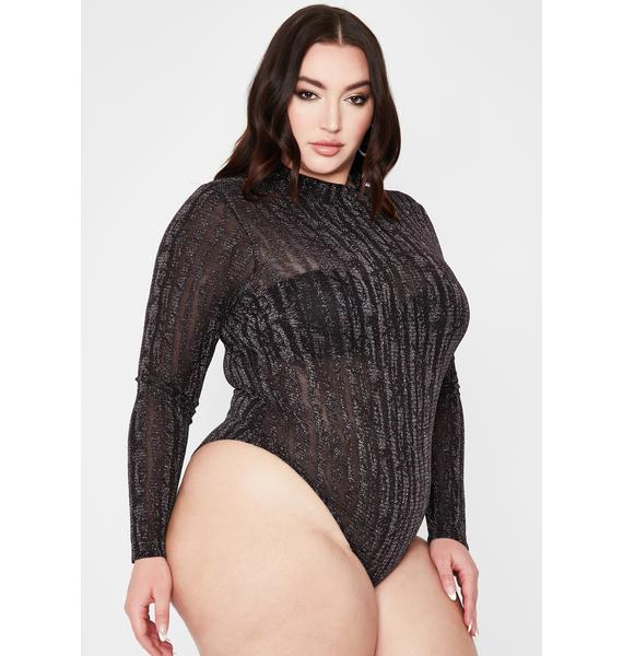 Her Shining Sin Turtleneck Bodysuit