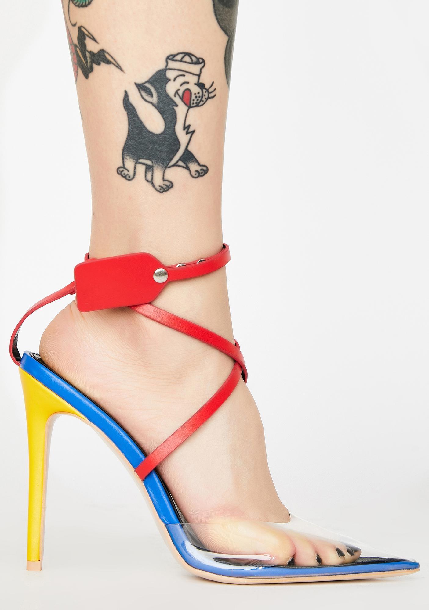 Public Desire SOS Stiletto Heels