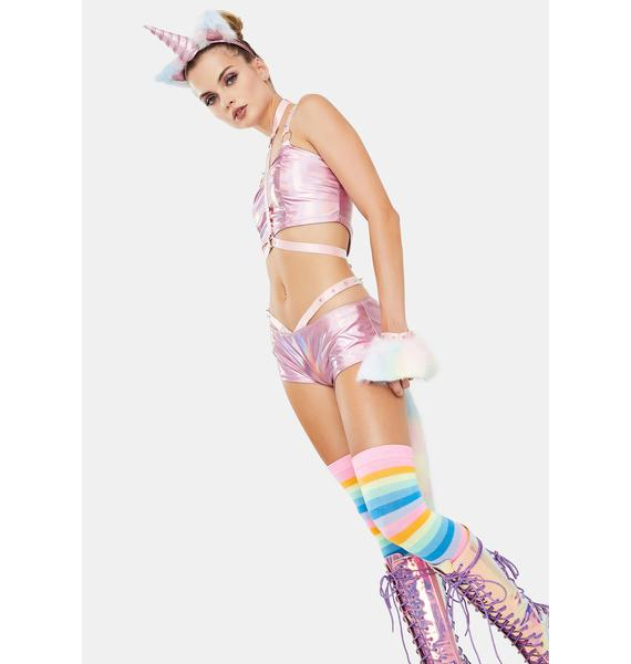 Dolls Kill Mythical Mischief Unicorn Costume