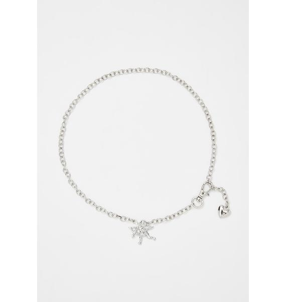Be My Lover Cupid Necklace