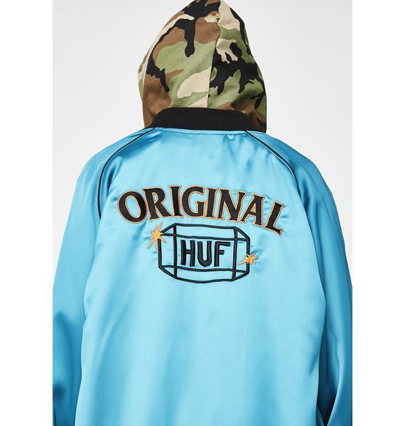 HUF Cabbie Satin Jacket