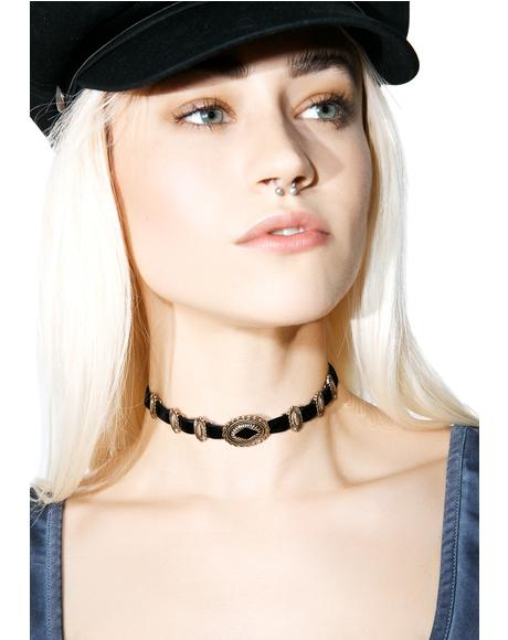 Out West Buckle Choker