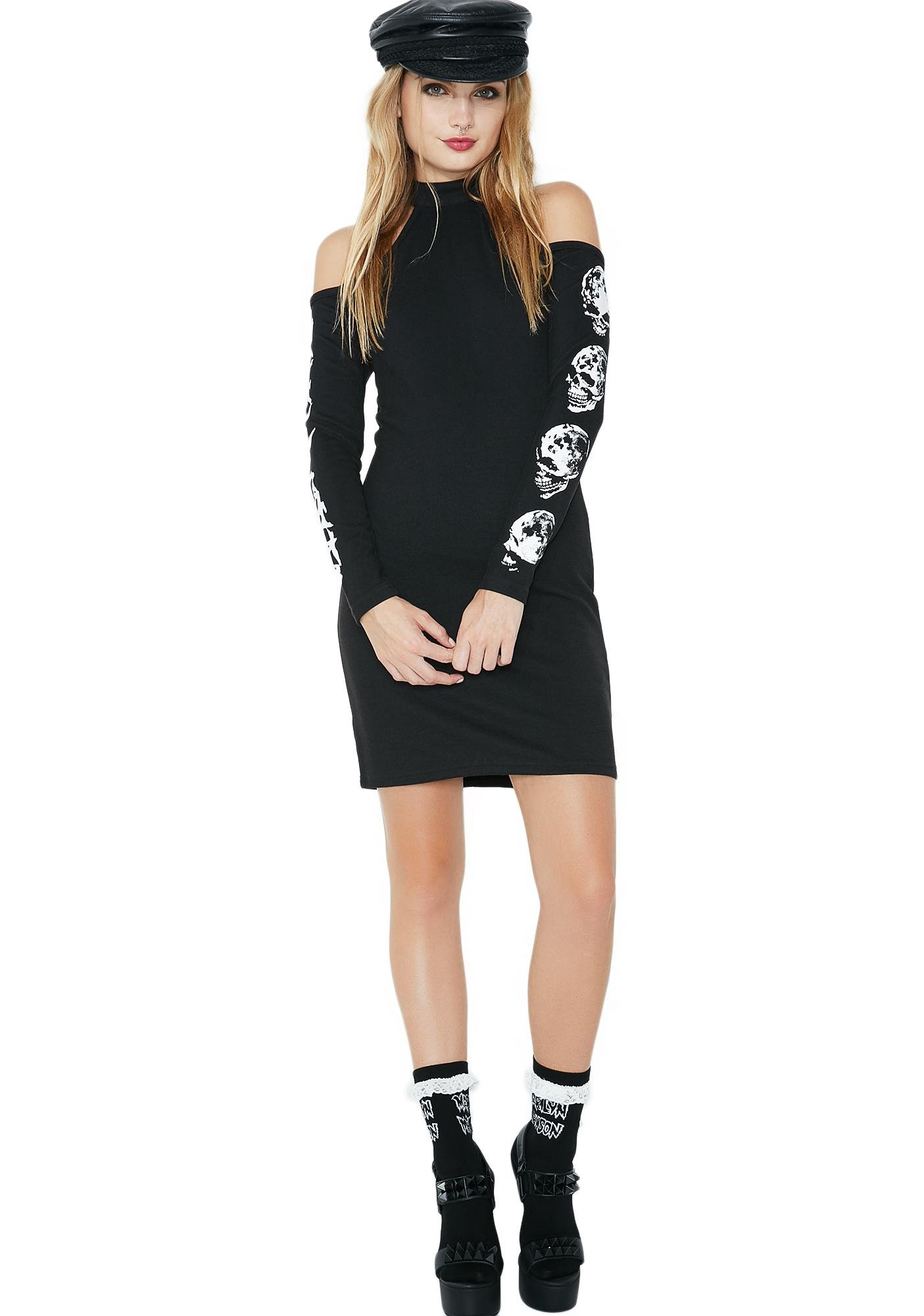 Killstar Luna Morte Bodycon Dress