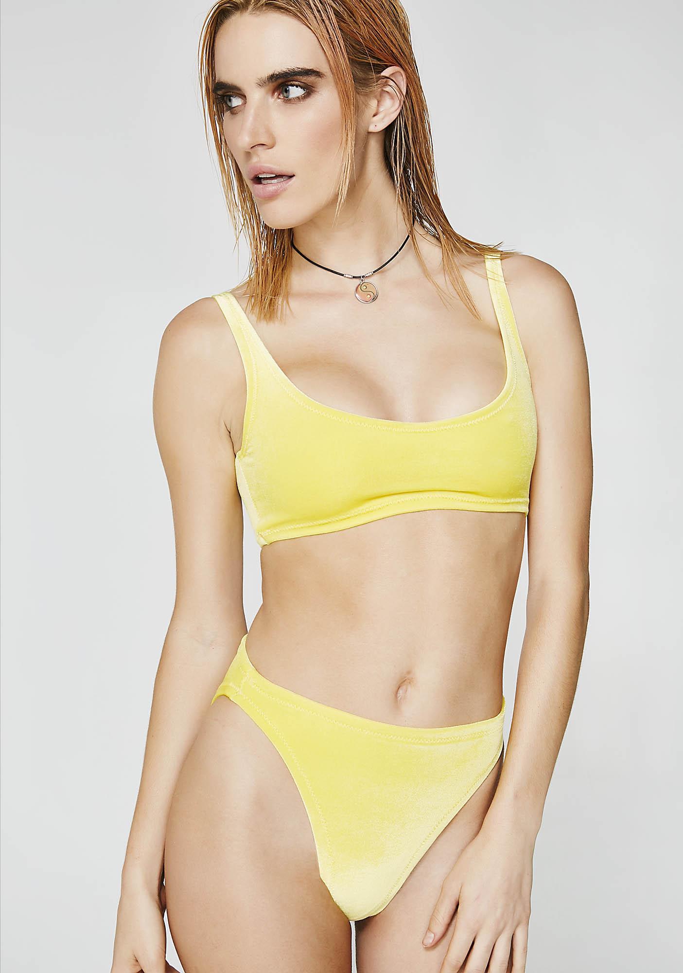Stardust Swim Sunny Velvet Bikini Set