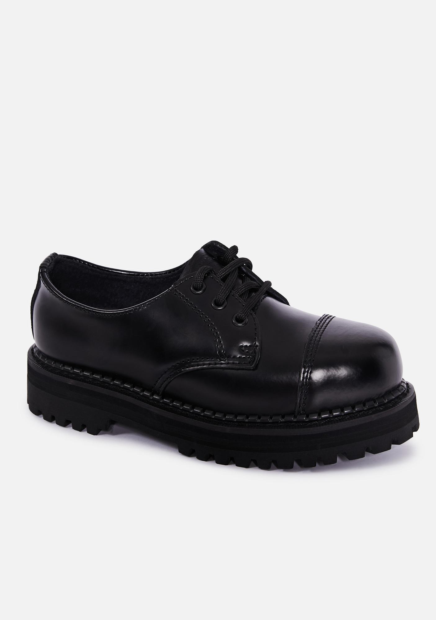 Demonia Proper Work Oxford Shoes