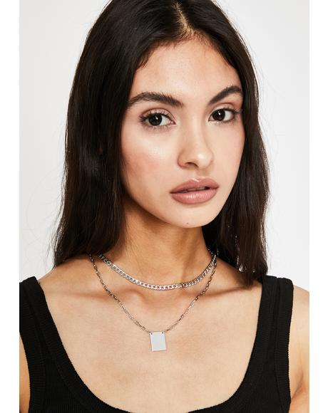 Boxed In Chain Necklace