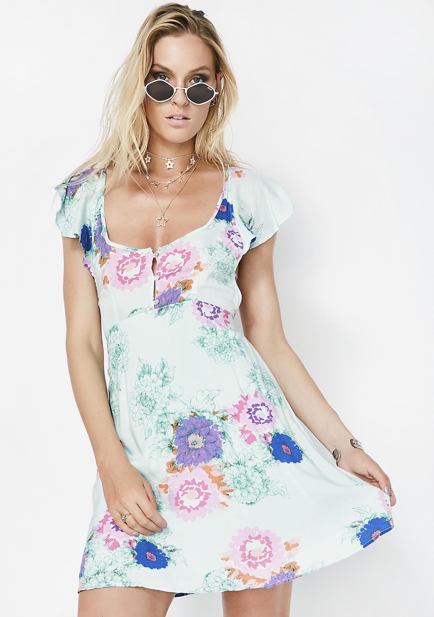 Drama Mama Floral Dress
